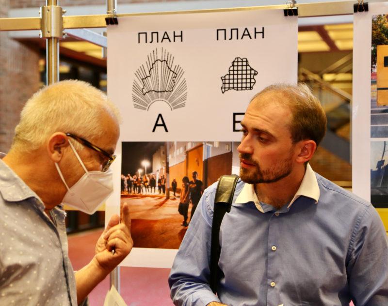 Klaus Blanc im Gespräch mit Aliaksei Paluyan, Regisseur von Courage.